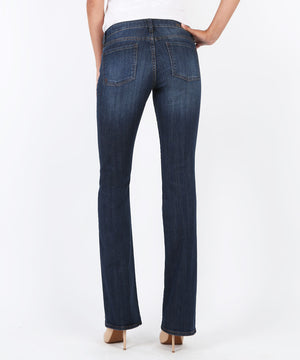 Natalie Bootcut, Exceptional Wash (Short Inseam)-Denim-Kut from the Kloth
