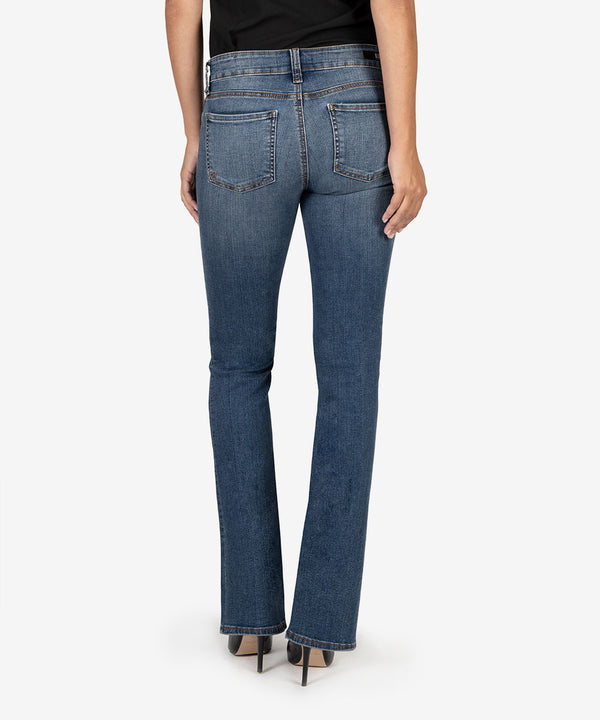 KUT from the Kloth NATALIE BOOTCUT JEANS in SCRUMPTIOUS WASH