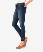 Connie High Rise Slim Ankle Skinny (Goodly Wash) Hover Image