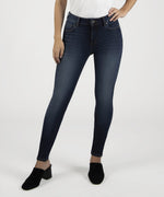 Mia High Waist Slim Fit Skinny, Petite (Goodly Wash) Main Image