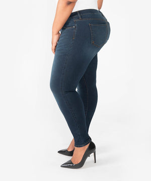 Diana Relaxed Fit Skinny, Plus (Brisk Wash)-New-Kut from the Kloth