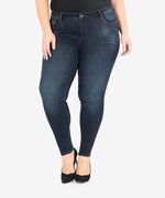 Diana Relaxed Fit Skinny, Plus (Observant Wash) Main Image