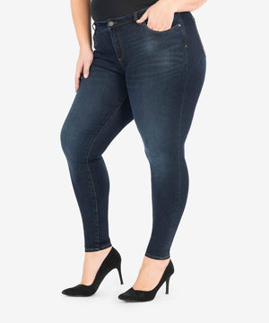 Diana Relaxed Fit Skinny, Plus (Observant Wash)-New-Kut from the Kloth