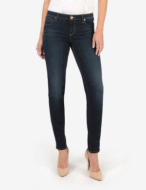 Diana Relaxed Fit Skinny, Long Inseam Exclusive (Connection Wash)-New-Kut from the Kloth