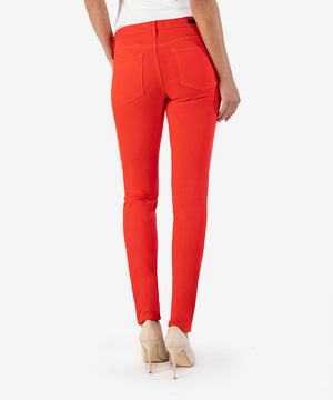 Diana Color Relaxed Fit Skinny, Exclusive (Chili Red)-New-Kut from the Kloth