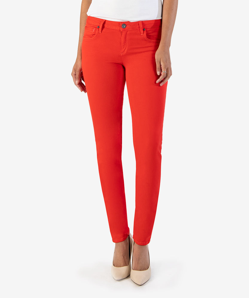 Diana Color Relaxed Fit Skinny, Exclusive (Chili Red)