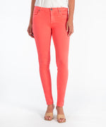 Diana Relaxed Fit Skinny, Exclusive (Coral) Main Image