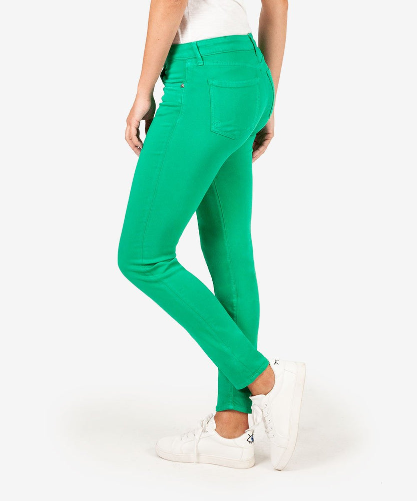 Diana Color Relaxed Fit Skinny, Exclusive (Kelly Green)-Kut from the Kloth