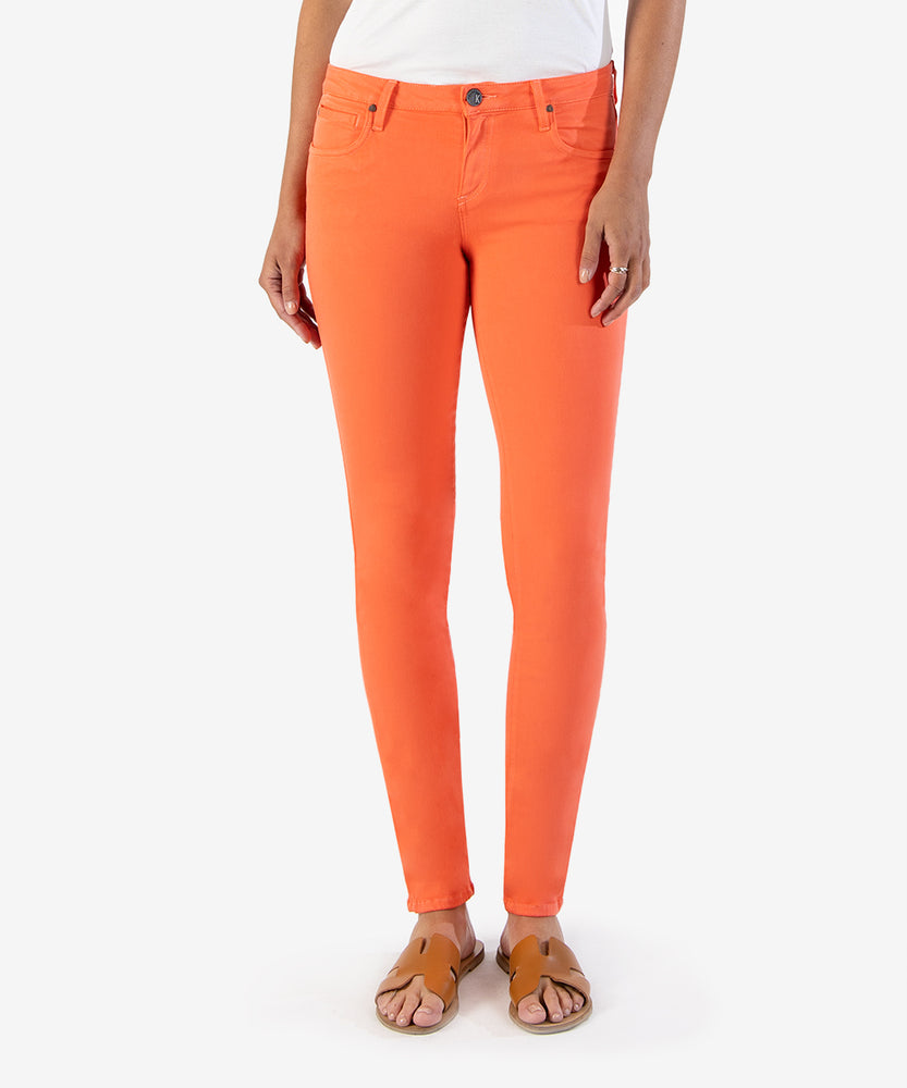 Diana Color Relaxed Fit Skinny, Exclusive (Living Coral)