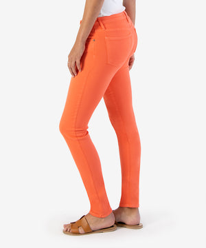 Diana Color Relaxed Fit Skinny, Exclusive (Living Coral)-New-Kut from the Kloth