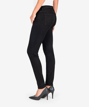 Diana Relaxed Fit Skinny Exclusive, (Black Caviar Denim)-New-Kut from the Kloth