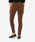 Diana Corduroy Relaxed Fit Skinny (Maple) Hover Image