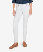 Diana Relaxed Fit Skinny, Exclusive (White) Main Image