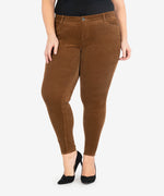Diana Corduroy Relaxed Fit Skinny, Plus (Cognac) Main Image
