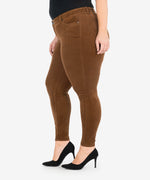 Diana Corduroy Relaxed Fit Skinny, Plus (Cognac) - Final Sale Hover Image