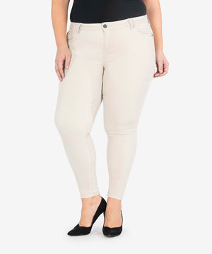 Diana Corduroy Relaxed Fit Skinny, Plus (LIGHT TAN)-New-Kut from the Kloth