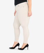 Diana Corduroy Relaxed Fit Skinny, Plus (Light Tan) Hover Image