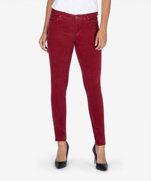 Diana Relaxed Fit Corduroy Skinny, Exclusive (Merlot)-New-Kut from the Kloth
