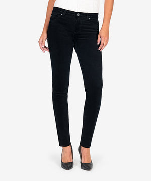 Diana Relaxed Fit Corduroy Skinny (Black)-New-Kut from the Kloth