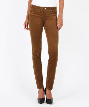 Diana Relaxed Fit Corduroy Skinny-New-00-Cognac-Kut from the Kloth
