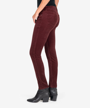 Diana Relaxed Fit Corduroy Skinny (Currant)-New-Kut from the Kloth