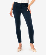 Diana Relaxed Fit Corduroy Skinny (Denim Blue) Main Image
