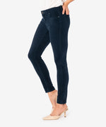 Diana Relaxed Fit Corduroy Skinny (Denim Blue) - Final Sale Hover Image