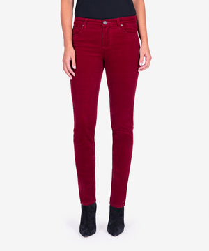 Diana Relaxed Fit Corduroy Skinny (Syrah)-New-Kut from the Kloth