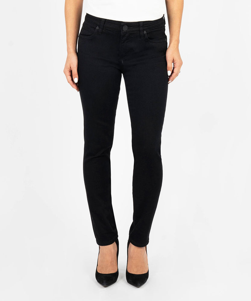 Diana Relaxed Fit Skinny, Petite (Black)