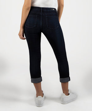 Catherine Boyfriend, Petite (Depth Wash)-Kut From the Kloth Denim