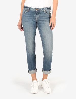 Catherine Boyfriend (Fervent Wash)-Denim-Kut from the Kloth
