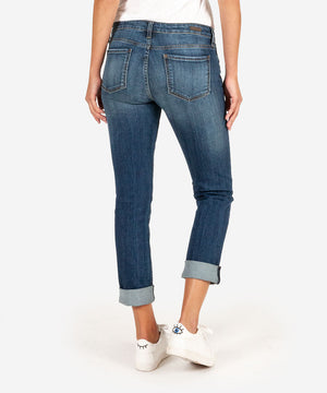 Catherine Boyfriend (Doubtless Wash)-Denim-Kut from the Kloth