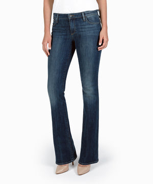 Karen Baby Bootcut , Exclusive (Dark Involvement Wash)-Denim-Kut from the Kloth