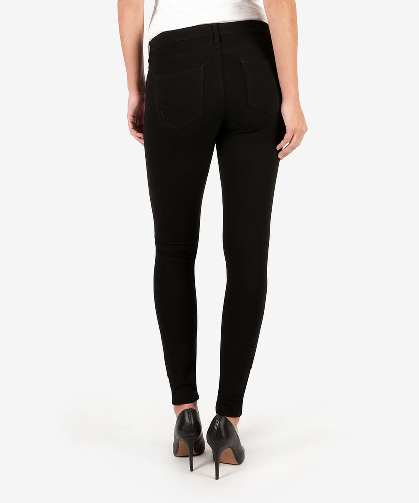Mia Ponte Slim Fit Skinny (Black)-Kut from the Kloth
