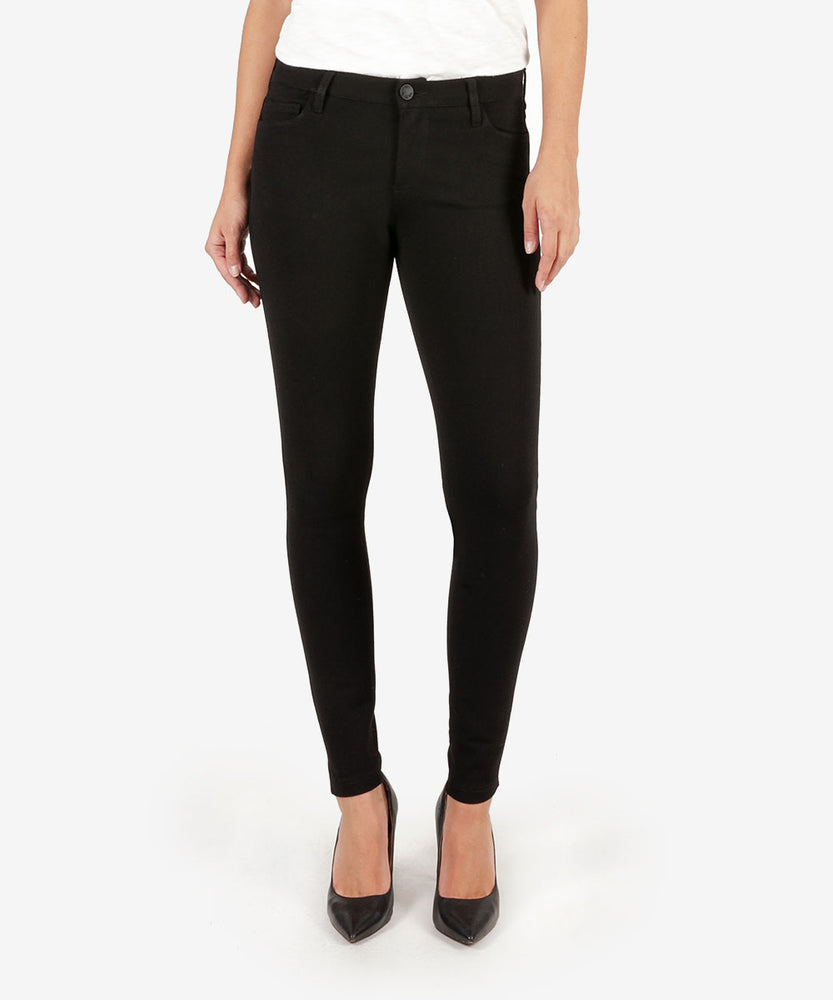 Mia Ponte Slim Fit Skinny (Black)