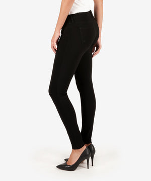 Mia Ponte Slim Fit Skinny (Black)-Denim-Kut from the Kloth