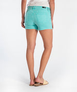 Gidget Fray Short (Sea Green) Hover Image