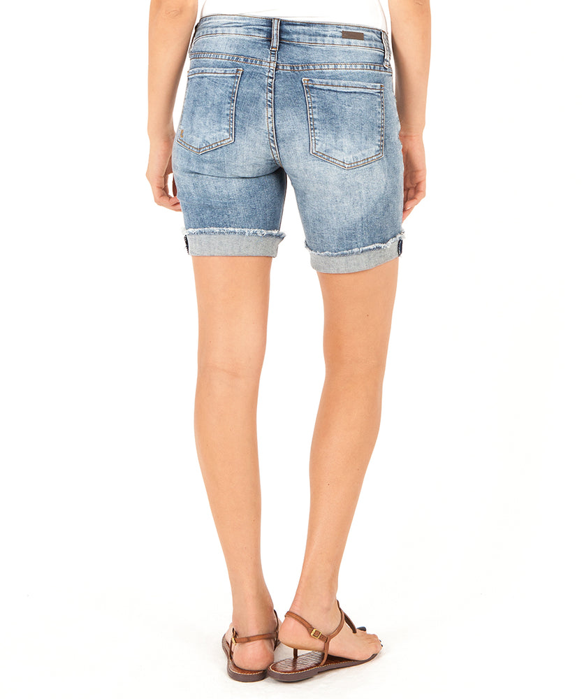 Catherine Boyfriend Short (Agreed Wash)-Kut from the Kloth