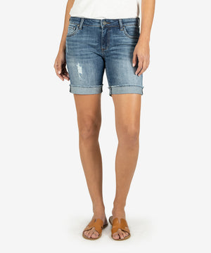 Catherine Boyfriend Short (Concept Wash)-New-Kut from the Kloth