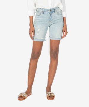 Catherine Boyfriend Short (Abide Wash)-New]-Kut from the Kloth
