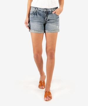 Madeline Boyfriend Short (Commit Wash)-Kut from the Kloth