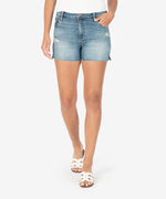 Gidget High Rise Fray Short (Accuracy Wash) Main Image
