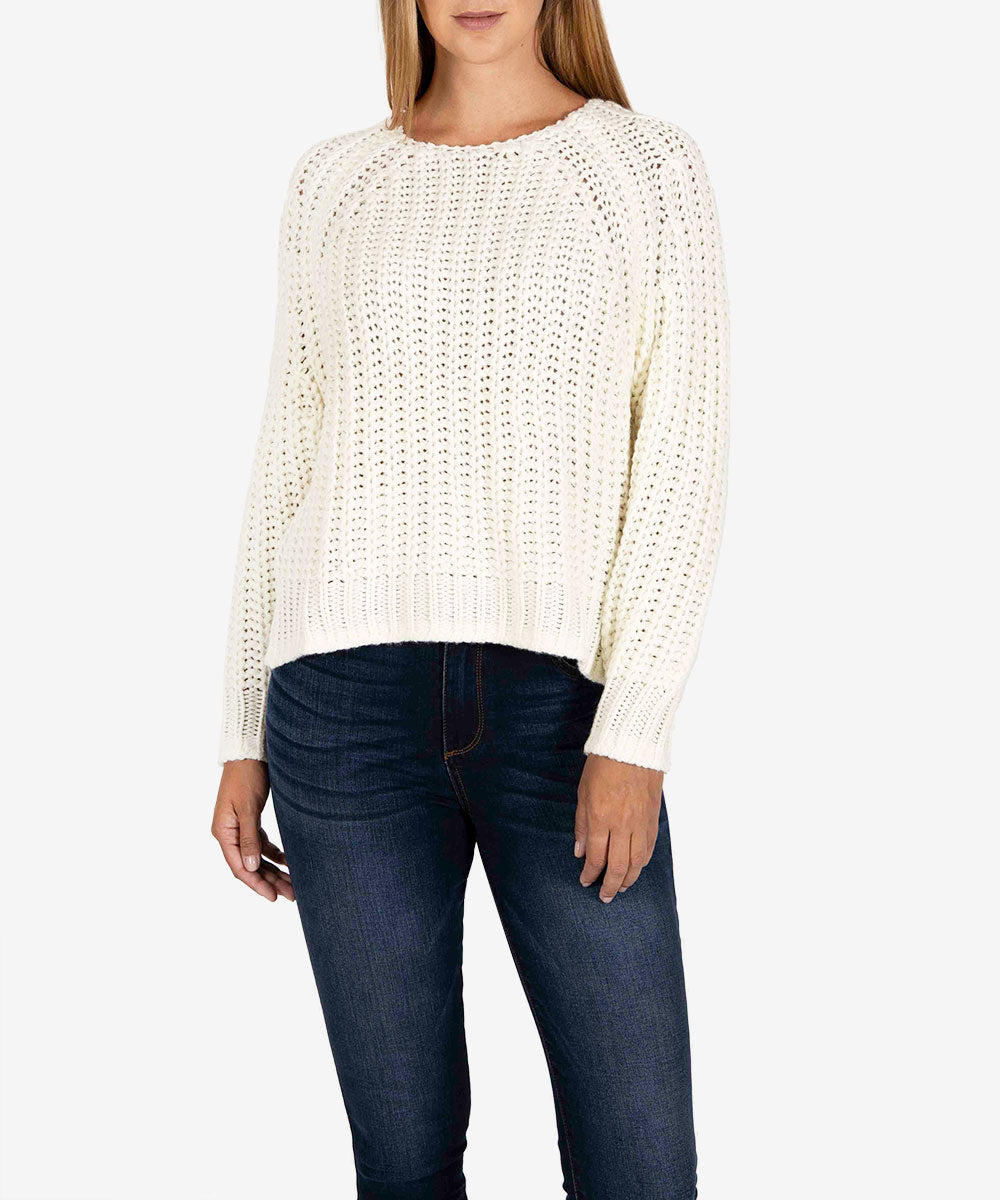 Page Chunky Sweater (Ivory)