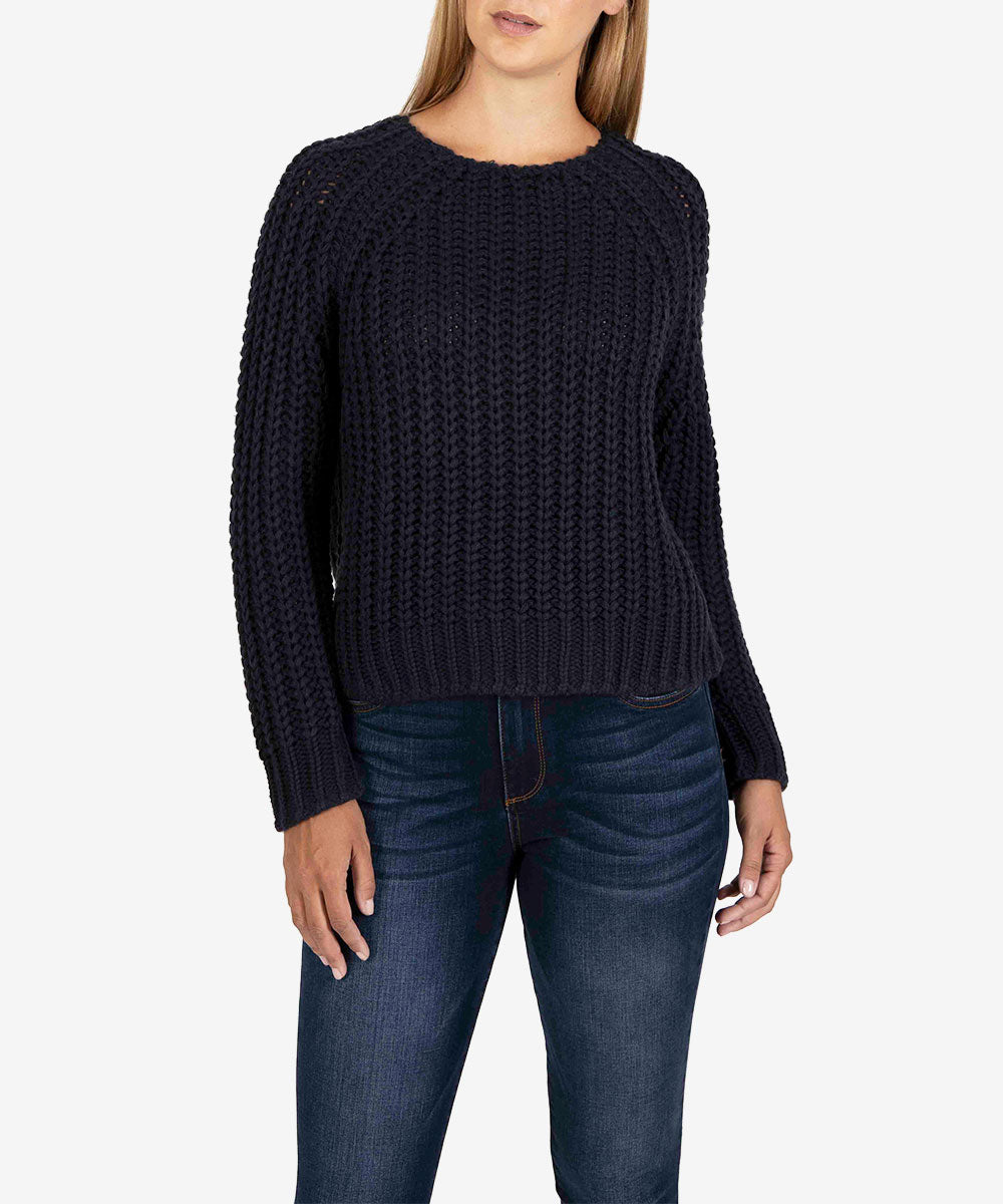 Page Chunky Sweater (Navy)