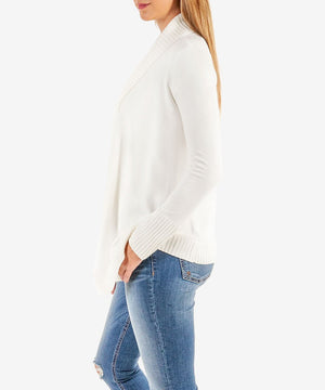 Amabelle Knit Cardigan (White)-Kut from the Kloth