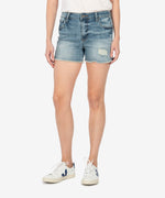 Gidget High Rise Fray Short (Traveler Wash) Main Image