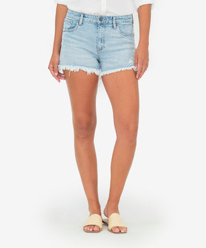 Jane High Rise Short (Adrenaline Wash)-New-Kut from the Kloth
