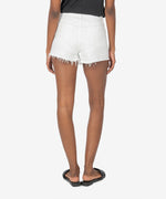 Jane High Rise Short (Optic White) Hover Image
