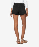 Jane High Rise Short (Black) Hover Image