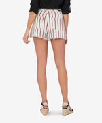 Jane High Rise Short (Ivory/Red Stripe) Hover Image